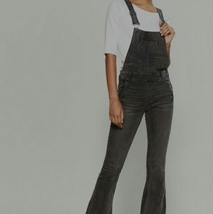 Free people overall denim